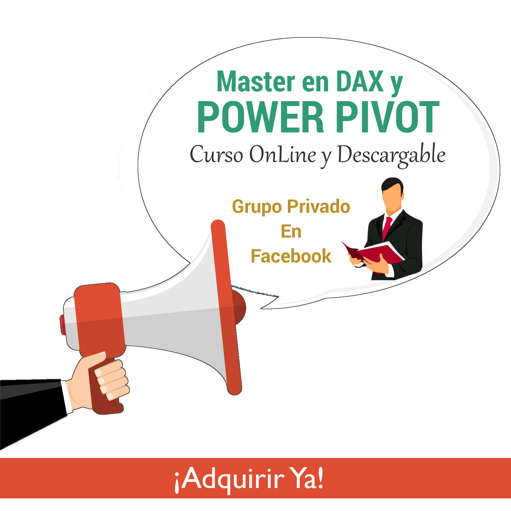 Master en DAX y Power Pivot