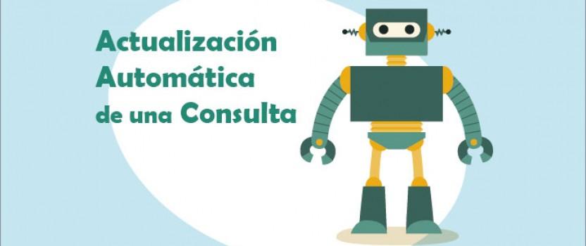 Actualización Automática de una Consulta