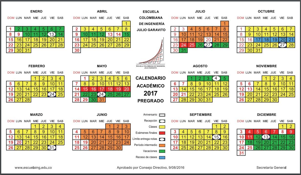 calendario personalizado académico power pivot