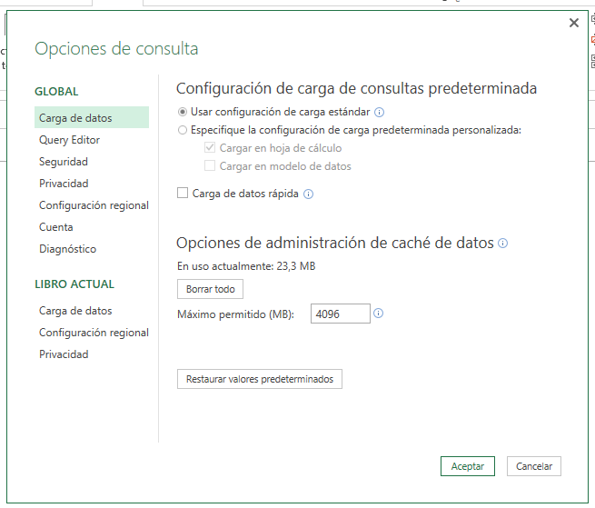 Configurar el Destino de Carga en Power Query - Excel Free Blog